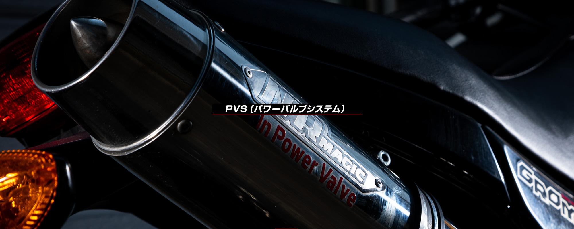 PVS(パワーバルブシステム)